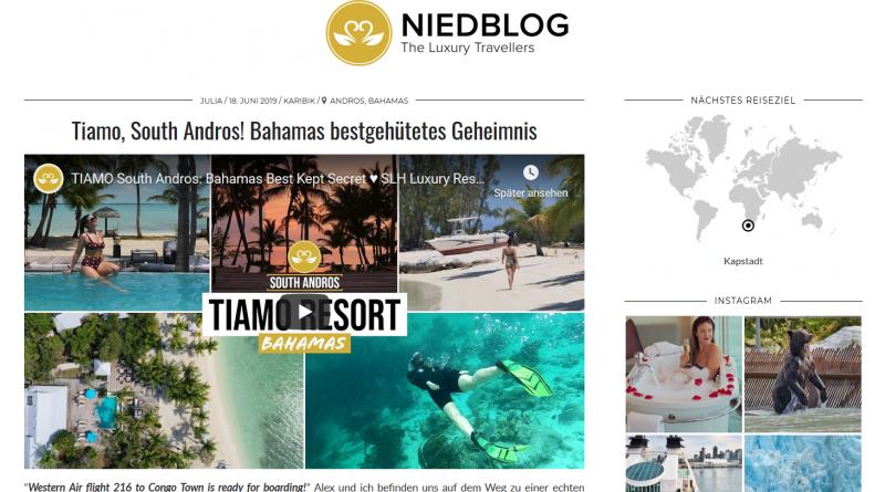 """Tiamo, South Andros! Bahamas bestgehütetes Geheimnis"" von Niedblog"