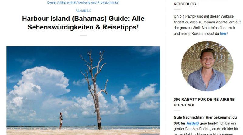 """""""Harbour Island (Bahamas) Guide: Alle Sehenswürdigkeiten & Reisetipps!"""" von germanbackpacker.com"""