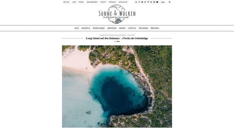 """""""Long Island auf den Bahamas – (Noch) ein Geheimtipp"""" von Sonne & Wolken"""