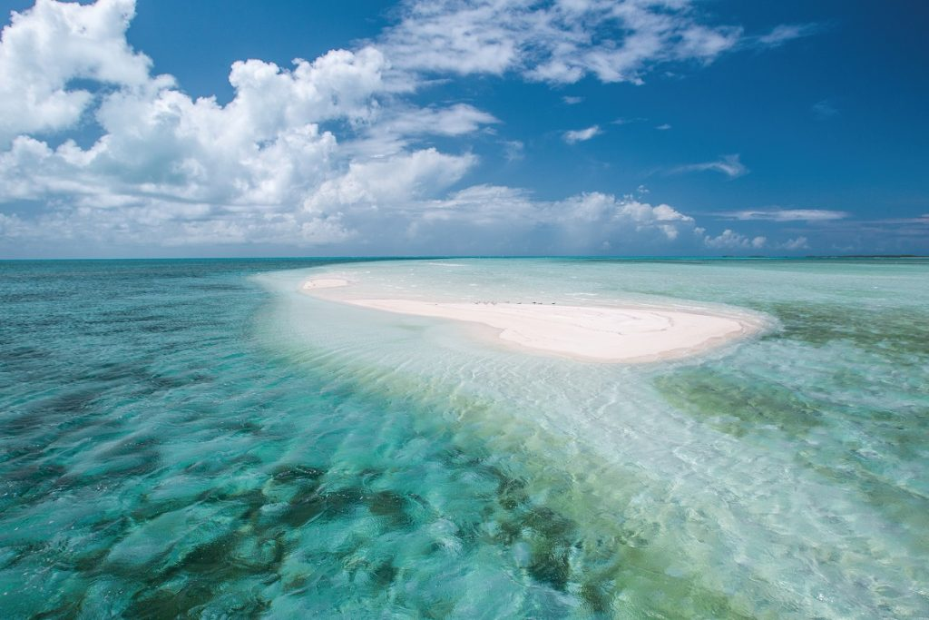 Bahamas: Sandbank